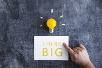 powerpoint presentatie think big